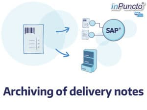 Allocation and archiving of delivery notes in SAP