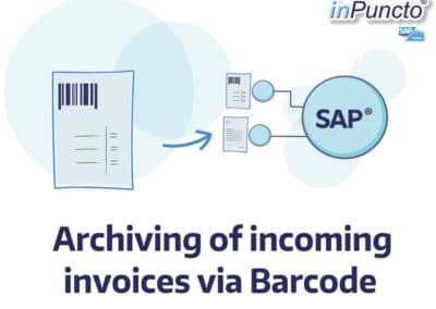 Automated archiving of incoming invoices