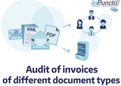 Invoice audit of different document types