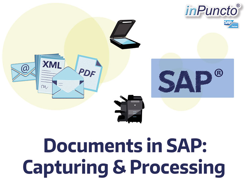 Documents in SAP: Automated capturing and processing