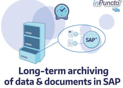Long-term archiving of data & documents in SAP