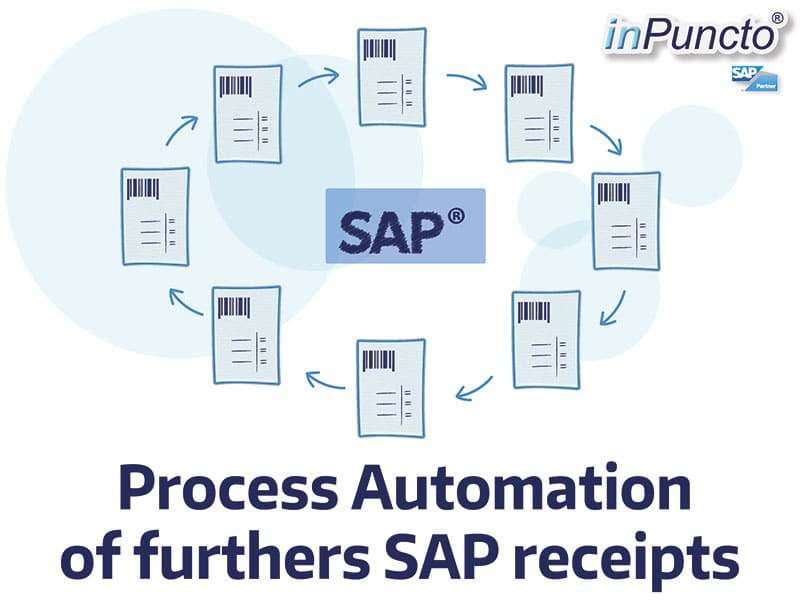 Automation of further SAP receipts