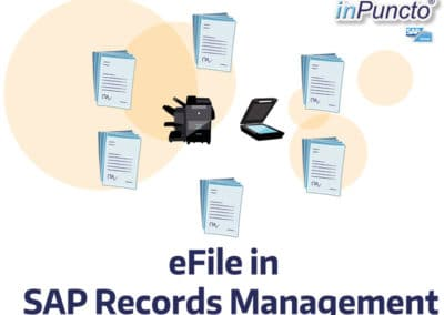 eFile in SAP Records Management