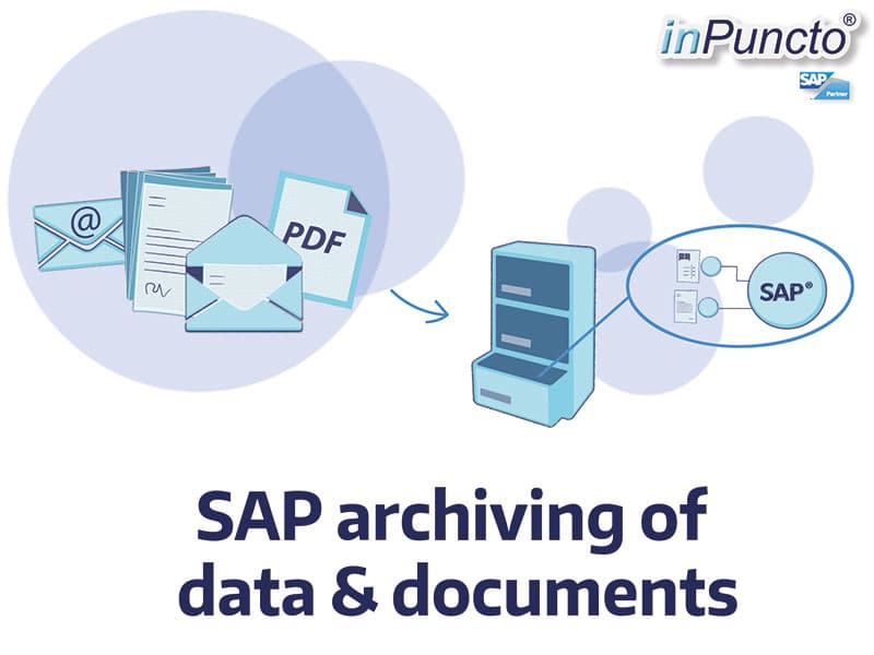 SAP archiving of data and documents