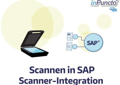 Scannen in SAP: direkt an Objekt