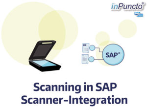 SAP scanning of documents
