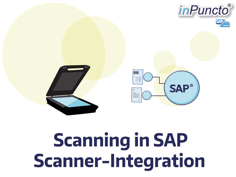 Scanning in SAP: directly to object