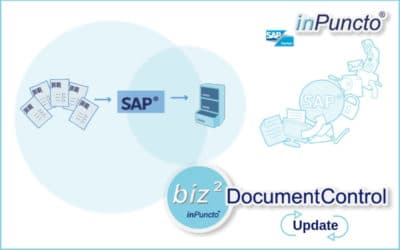 Per­for­mance update for the inPuncto workflow mana­ge­ment tool for SAP