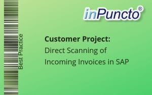 Simple invoice processing for a customer