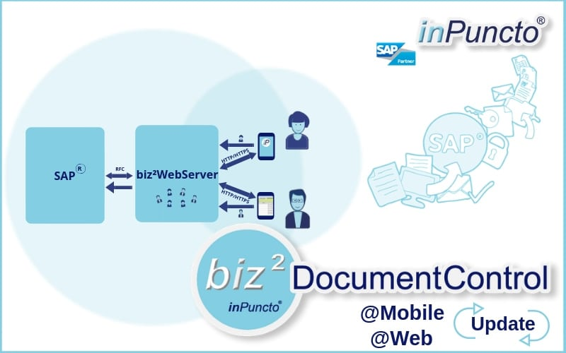 Mobile app and web solution for SAP invoice release by inPuncto has been updated