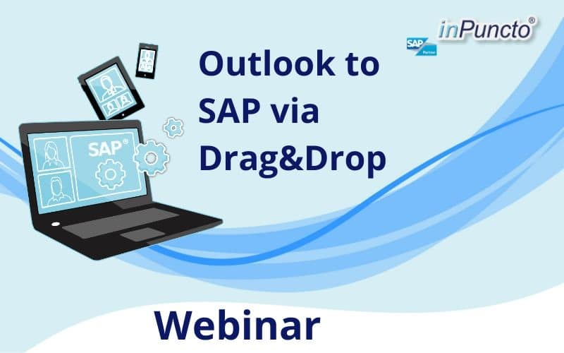 Register NOW: Easily move Outlook mails & MS documents to SAP via drag-and-drop
