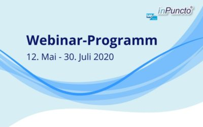 Live Webinare: Doku­menten­manage­ment in SAP mit inPuncto jetzt auch in Cloud-­Modell