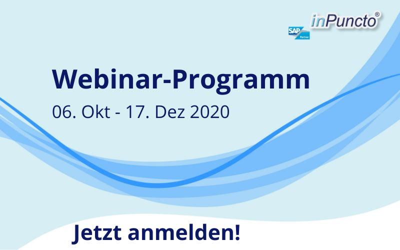 Kosten­lose Webinare zu Doku­menten­mana­gement & Prozess­optimier­ung in SAP